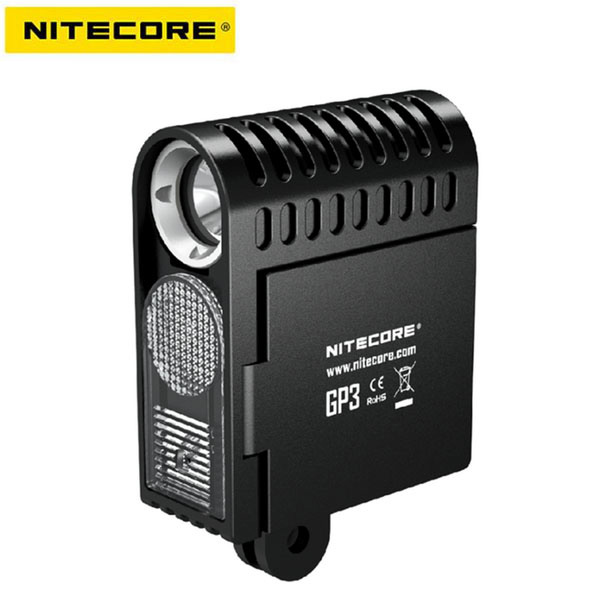 NiteCore GP3 Action Camera Video Photo USB Rechargeable GoPro Light Diffuser