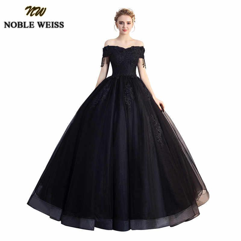 Noble Weiss Quinceañera Vestidos 2019 Nuevo Transparente