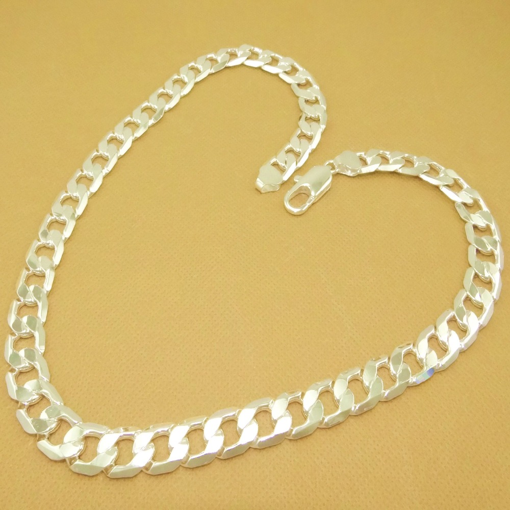 оптовая 12 мм широкий цепи ожерелье для мужчин 26 дюймов, мода проблемка мужские украшения 16 дюймов до 30 дюймов можно выбрать