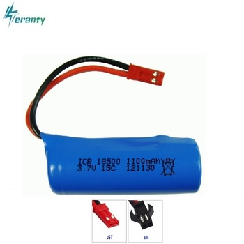 3.7V 1100mAh 15c Lipo Battery For S900 FT008 Remote control helicopter/Boat 3.7 v 18500 Li-po batteries for Toy Battery SM Plug