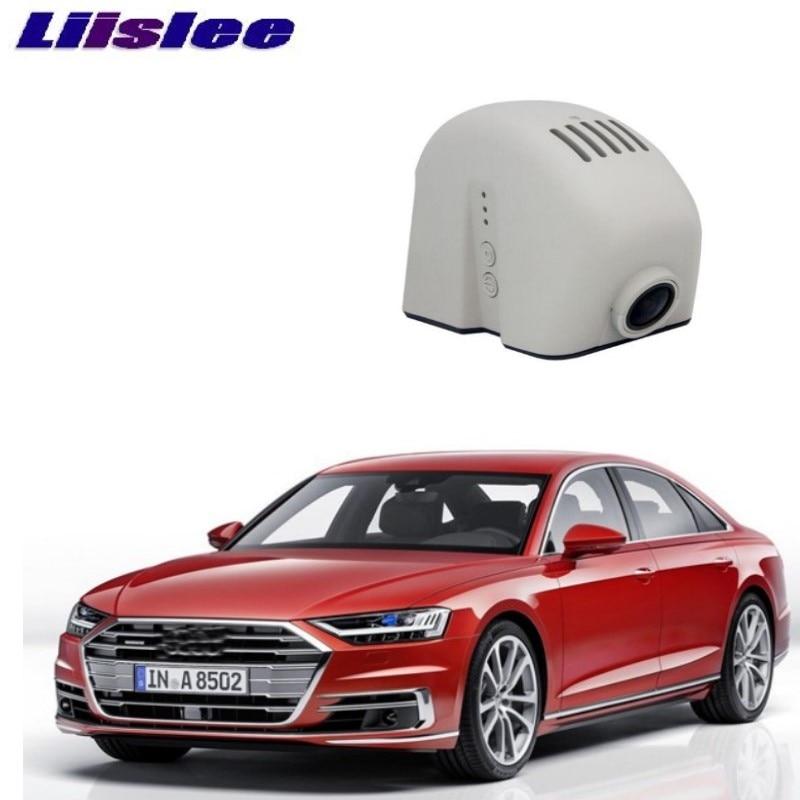 LiisLee Car Black Box WiFi DVR Dash Camera Driving Video Recorder For Audi A8 S8 D3 2002~2009 Car накладки на пороги audi a8 d3 2002 2009