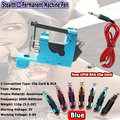 Blue Color Stealth II Tattoo Machine Rotary Tattoo Machine Motor Gun Liner Shader  for Tattoo Kits Supply  Free Shipping