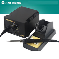 220V Original QUICK 969A Constant Temperature 60W Electronic Soldering Iron SMD Rework Station