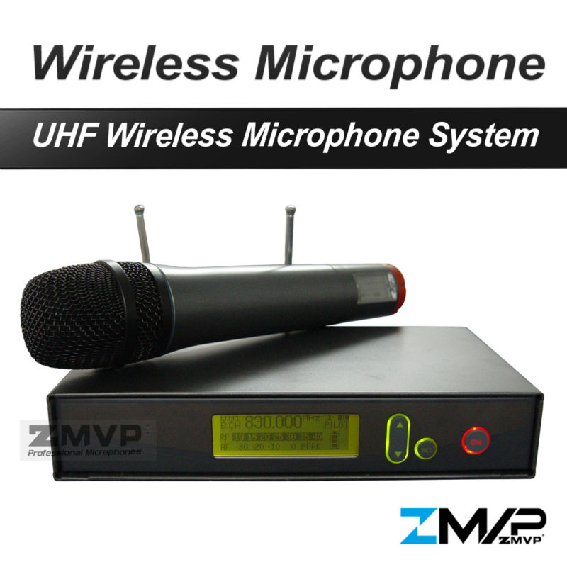 Free Shipping! 335 G2 Professional UHF Wireless Microphone Wireless System With Handheld Transmitter For Vocals Speech Karaoke free shipping uhf professional s24 b 58 wireless microphone cordless karaoke system with handheld transmitter band r5 800 820mhz
