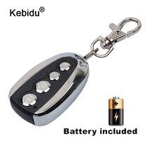Kebidu Miniไฟฟ้า4ปุ่ม433MhzสำหรับรถRollingรหัสรีโมทคอนโทรลDuplicatorรีโมทคอนโทรลเปิดขวดสำหรับบ้าน
