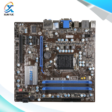 MSI H55M-E33 Original Used Desktop Материнских Плат H55 Сокет LGA 1156 i3 i5 i7 DDR3 Micro-ATX На Продажу