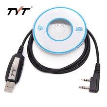 Programación USB Cable + CD Para Tytera Handheld TYT TH-UV9D Walkie Talkie DM-UVF10 TH-UV8000D TC-8000 TH-UV8000E TH-F8