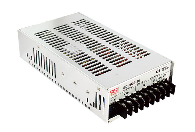 цена на [PowerNex] MEAN WELL original SD-200D-24 24v 8.4A meanwell SD-200 24V 201.6W Single Output DC-DC Converter