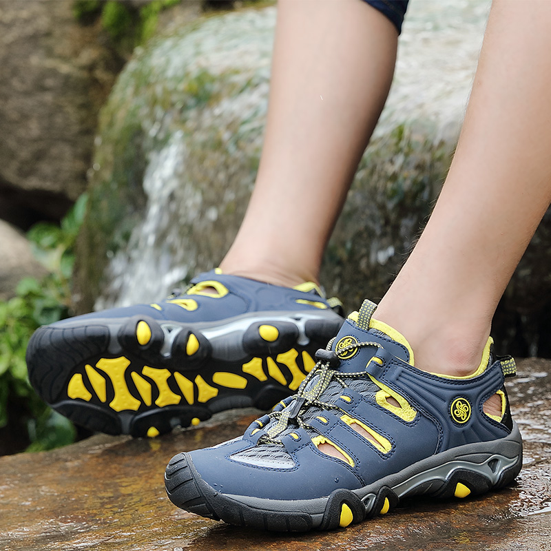 Men Hiking Water Sneakers Professional Aqua Shoes For Men Anti-Slip Men Sport Shoes Brand Travel Shoes Treking Trainers