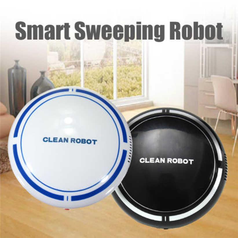 Автоматический USB Перезаряжаемый умный робот пылесос подметальный всасывающий умный дом Futural цифровой JULL12