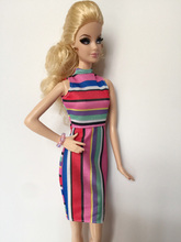 New styles Festival Gifts Accessories Dress For Barbie Doll 1 6 BBI1001