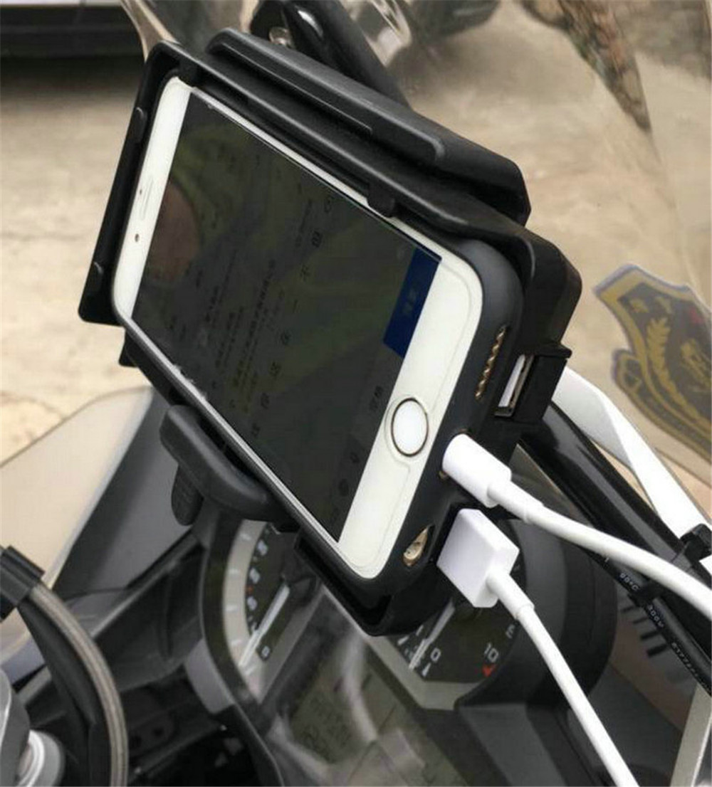 For BMW R1200GS Mobile Phone Navigation Bracket ADV F700 800GS CRF1000L Africa Twin For Honda Motorcycle
