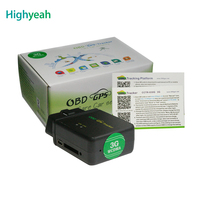 GPS Tracker Car 3G Vehicle GPS OBD Interface CCTR 830G No Installation Power Off Alarm Free APP Android Track Remote Monitoring