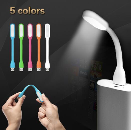 USB LED Lamp100% Original USB Light Flexible LED USB Book Lamp for Notebook Laptop Tablet PC USB Power Novel Reading Lighting