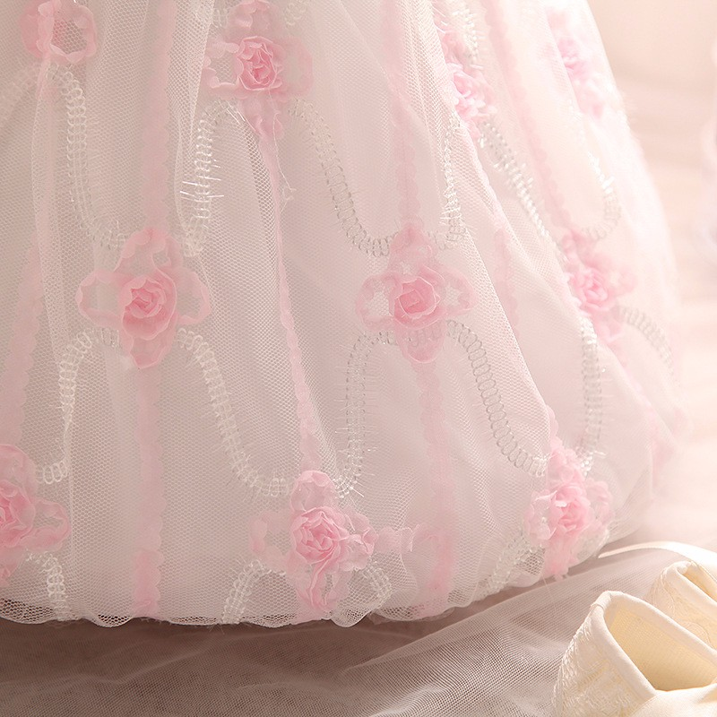 Baby Girls Dress 2016 New Fashion Kids Princess Birthday Party Tulle Wedding Dresses Christmas Dress Newborn Infant Clothes 0-2Y-7