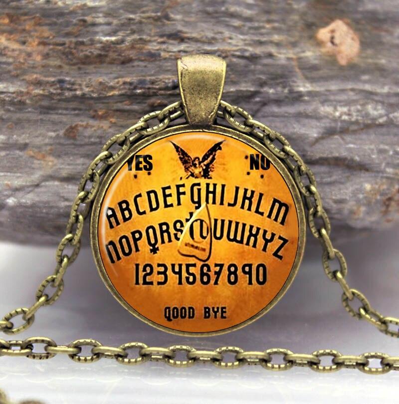 Ouija Board Necklace Pendant