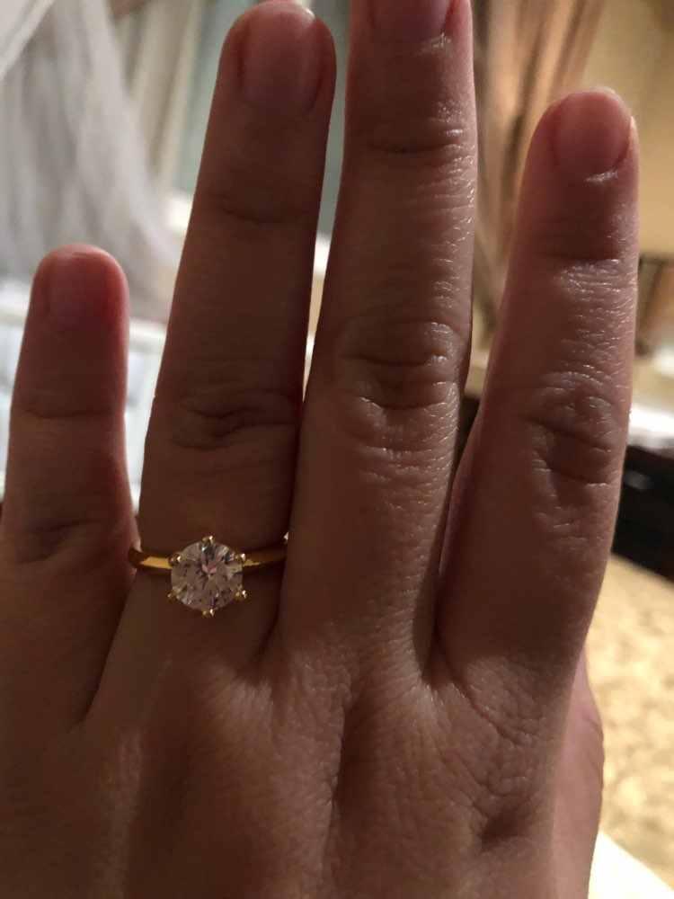 Vecalon solitário Promise Ring set 100% Real 925 sterling silver AAAAA Cz anéis de Noivado Casamento da faixa para as mulheres De Jóias de Noiva