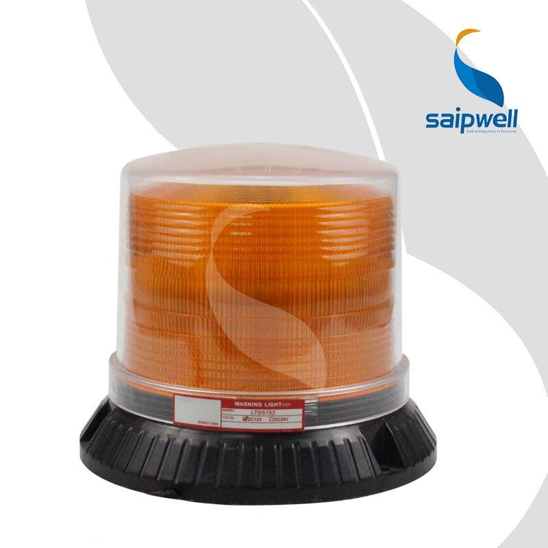 3W 12V DC 60~ 90 раз/мин винтовой фиксированный светодиодный Предупреждение льный светильник/Ультраяркий светильник(LTE-5152