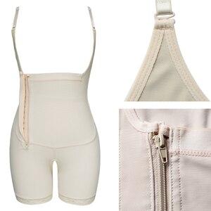 Image 5 - Plus Size Slimming Shapewear Butt Lift Shapers Sculpting Body Shaper Fat Control Shapewear Full Bodysuits Corrective Underwear