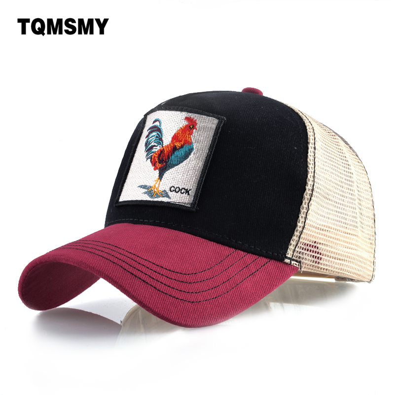 Embroidery cock Baseball Caps men Hip Hop cap Breathable Mesh Snapback caps Unisex sun hats for women chicken bone Casquette women baseball cap men snapback casquette hats for women men sun hat bone summer gorras hip hop snapback bone fashion new caps
