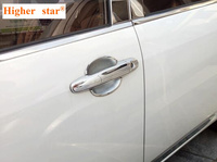 Higher star ABS chrome 8pcs Car door handle decoration cover+4pcs door handble decoration bowl For TOYOTA COROLLA 2007 2013|car door handle cover|door handle cover|handle cover -