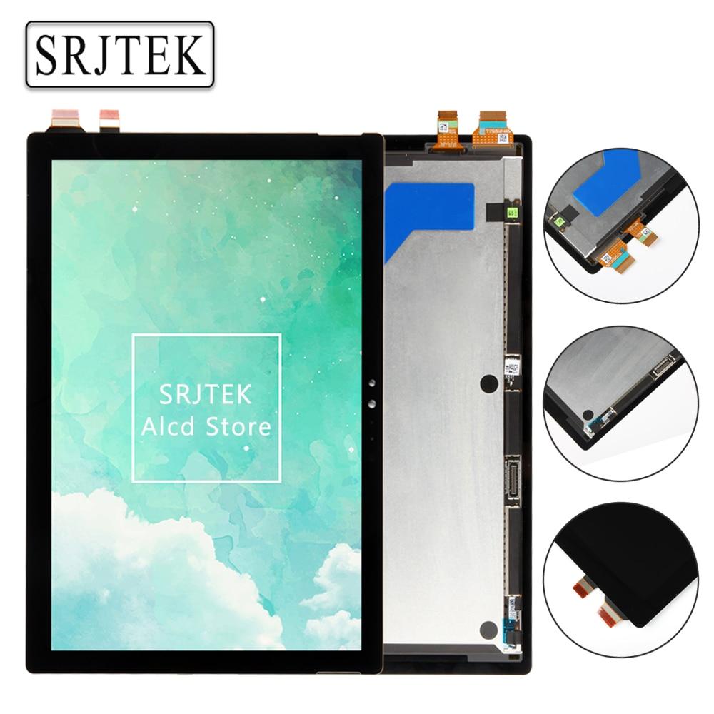 Srjtek 12 3 For Microsoft Surface Pro 5 1796 LP123WQ1 SP A2 LCD Screen Touch Digitizer