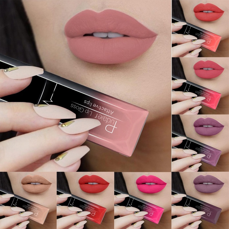 21 Color Makeup Moisturizer Matte Liquid Lipstick