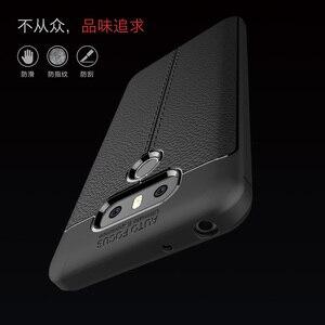Image 4 - Wolfrule sfor caso de telefone lg g6 capa à prova de choque de couro de luxo macio tpu caso para lg g6 caso para lg g 6 h870 h873 h870ds funda]