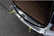 Сталь Внешний Задний Бампер Протектор Пластины Порога Гвардии Обложка Накладка Для Mitsubishi Montero/Pajero Sport 2009-2015