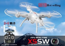 Original SYMA X5SW FPV 2.4G 4CH 6-Axis RC Quadcopter With 2MP WiFi Camera Real Time Video Drone with original box