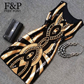 1920 s vintage dress gatsby flapper partido dress geométrica lentejuelas con cuentas bodycon dress