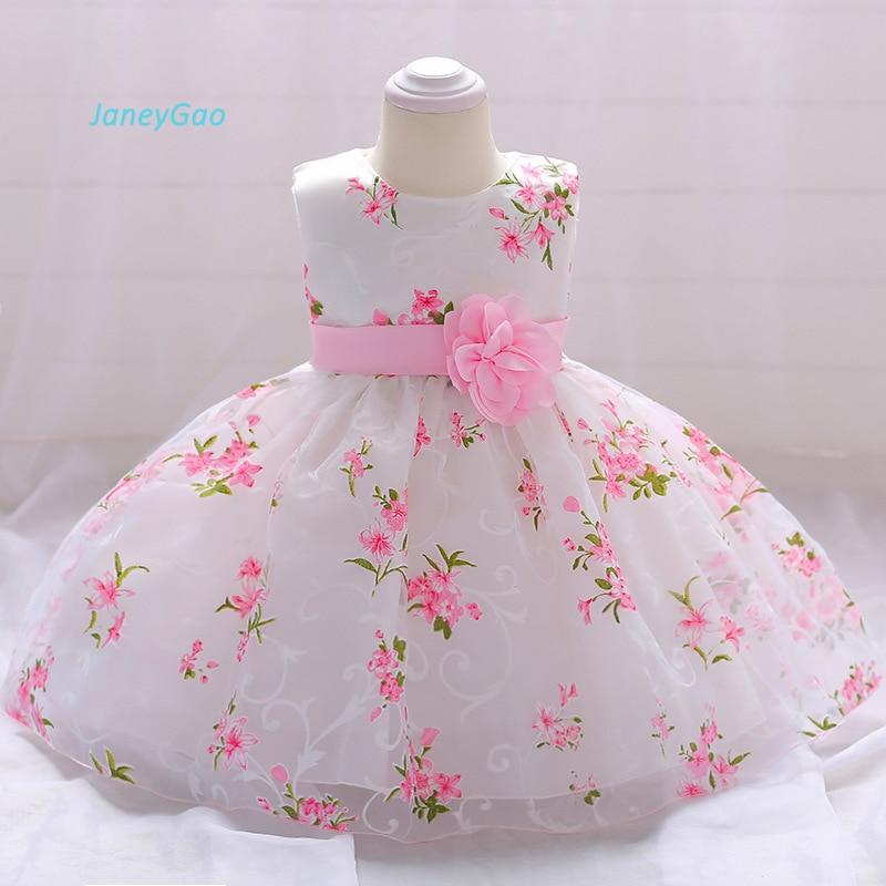 Janeygao Flower Girl Dresses For Wedding Party Little Baby Formal