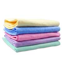 Pet Dogs Towels Cleaning Microfiber Bath Towel Puppy Pet Dog Supplies Product Chamois Towel Grooming Necessary