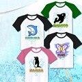 Аниме бесплатно Iwatobi плавать клуб косплей костюм Nanase харука / татибана макото / Rel Ryugazakl / хадзуки нагиса футболка бесплатная доставка