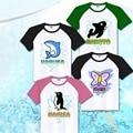 Anime Free Iwatobi Swim Club Cosplay Costume Nanase Haruka /Tachibana Makoto /Rel Ryugazakl/Hazuki Nagisa T-Shirt Free Shipping