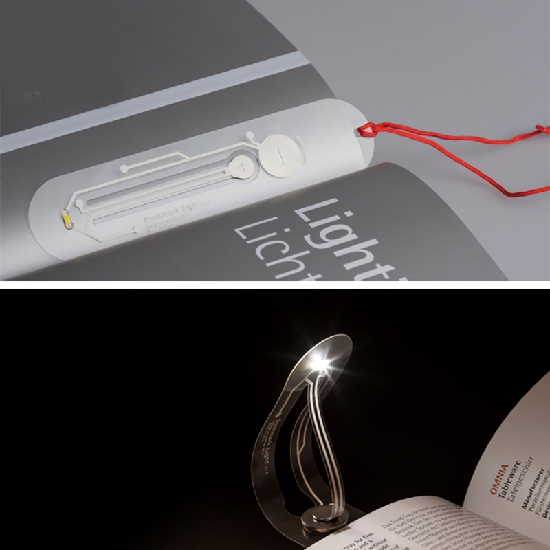 Mini size Practical bookmark night light special design LED portable night light