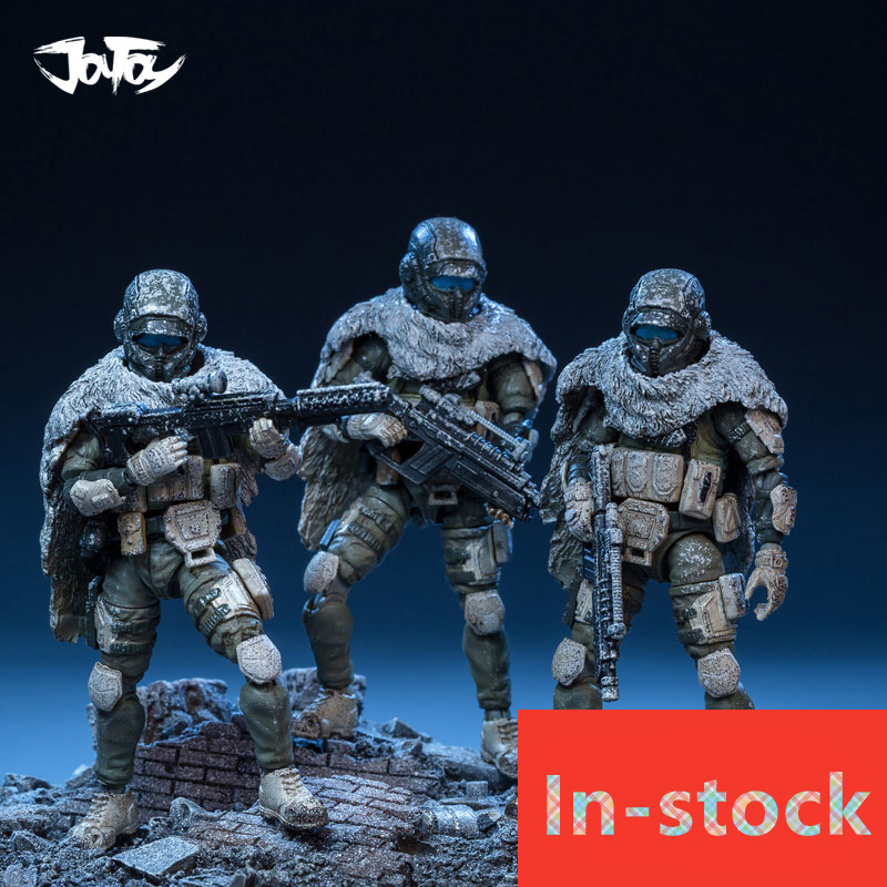 NEW JOY TOY 1:25 model Figure soldiers Snow soldier (3pcs/lot) Free shipping RD125037 все цены