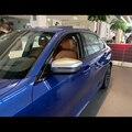 Для BMW 3 серии 2019 2 шт. ABS Автомобильная Боковая дверь зеркало заднего вида защитная рамка Крышка отделка автомобиля Стайлинг Аксессуары