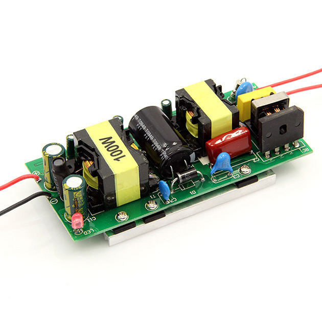 Yüksek kaliteli LED Sürücü 100 W adaptör güç kaynağı 100 W yüksek güç ışık lamba AC 85 ~ 265 V 30 ~ 36 V LED Işıldak Ampul