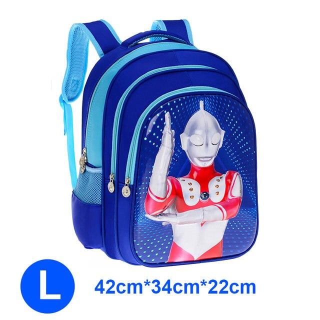 만화 슈퍼 히어로 3D 울트라 맨 타로 Zoffy 소년 소녀 어린이 유치원 학교 가방 십대 Schoolbags 키즈 학생 배낭