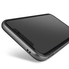 CAPSSICUM מתכת פגוש מקרה עבור iPhone X Xs Max XR רך סיליקון קשיח אלומיניום סגסוגת מסגרת עבור iphone X Xs max XR