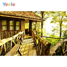 Yeele Landscape Forest Chalet Sunshine Serene Style Photography Backdrops Personalized Photographic Backgrounds For Photo Studio