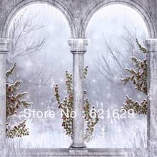 Arched construction 8'x8′ CP Computer-painted Scenic Photography Background Photo Studio Backdrop DGX-169