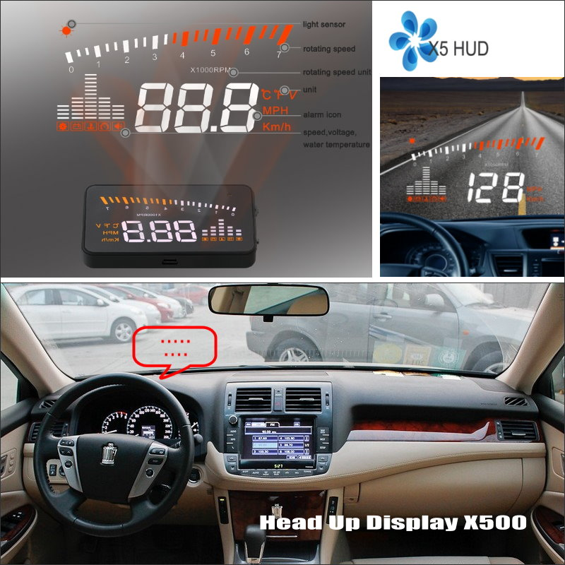 ФОТО Car HUD Head Up Display For Toyota RAV4 RAV-4 RAV 4 2005~2012 - Safe Driving Screen Projector Inforamtion Refkecting Windshield