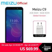 Resmi Küresel Sürüm Meizu C9 2 GB 16 GB Cep Telefonu Quad Core 5.45 inç 1440X720 P Ön 8MP Arka 13MP Kamera 3000 mAh Pil