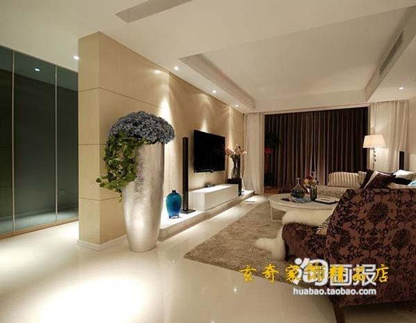 1m 1 silver large floor vase modern fashion flower brief derlook