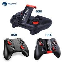 MOCUTE 050 053 054 VR Game Pad Android do Bluetooth Joystick controlador de Gamepad para PC Smart Telefone Selfie Controle Remoto VR CAIXA
