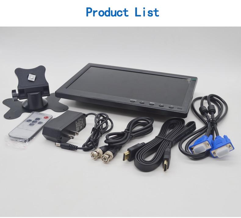 101 дюймовый ЖК монитор Автомобильный mp5 плеер цветной экран