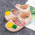 Melissa Melissa Summer pineapple jelly shoes baby shoes baby shoes women shoes sandals Taobao explosion models
