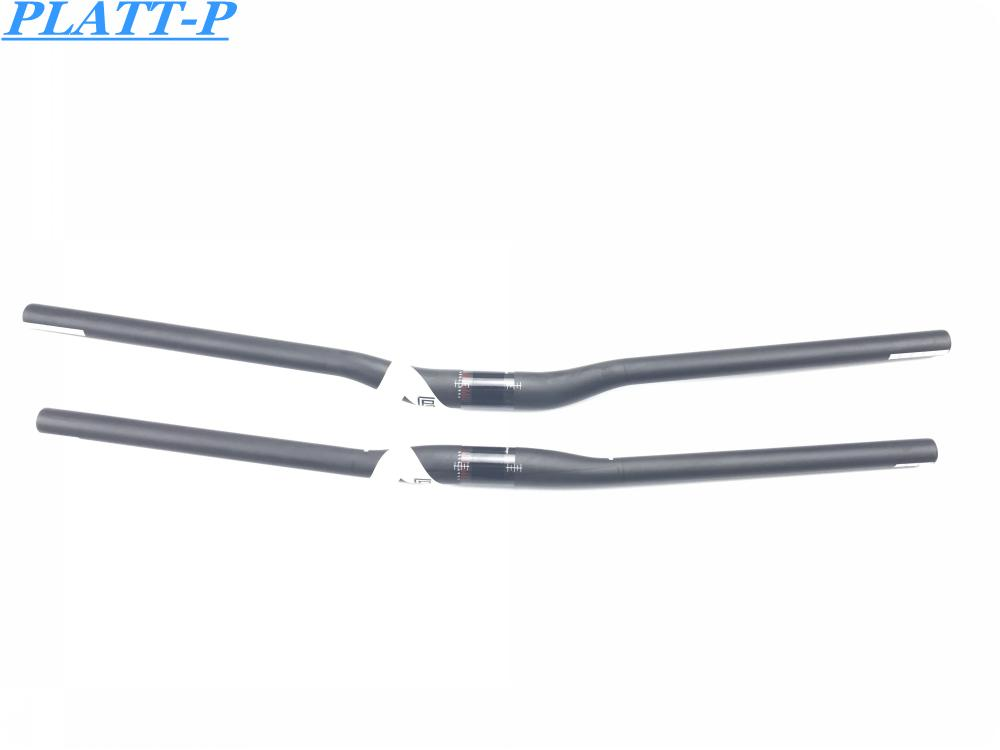 Perfect Quality New Full Carbon Mountian Bike Handlebar Bicycle MTB Flat Bar Riser